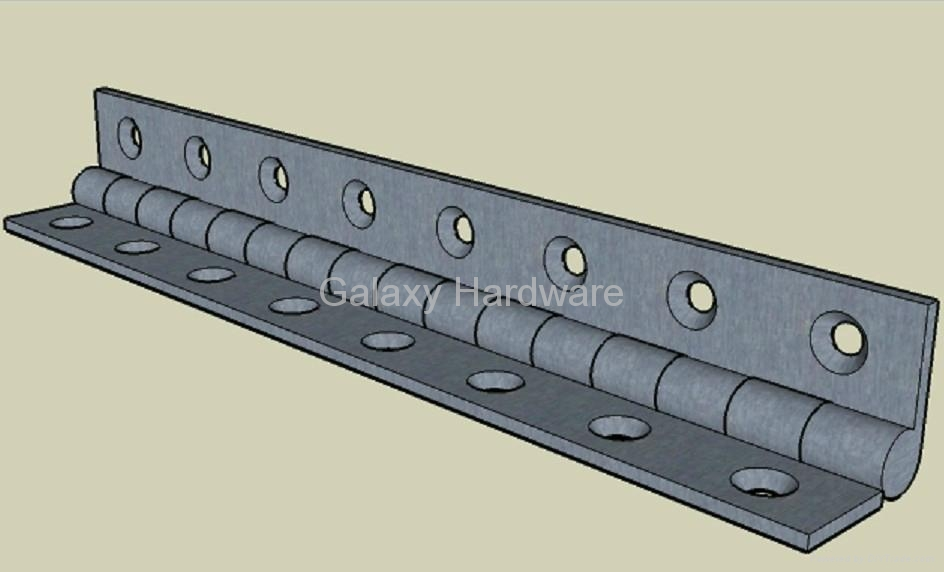 Continuous Piano Hinge - PAN001 - G&Y (China Manufacturer ...