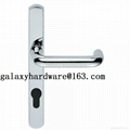 Lever Handle with backplate