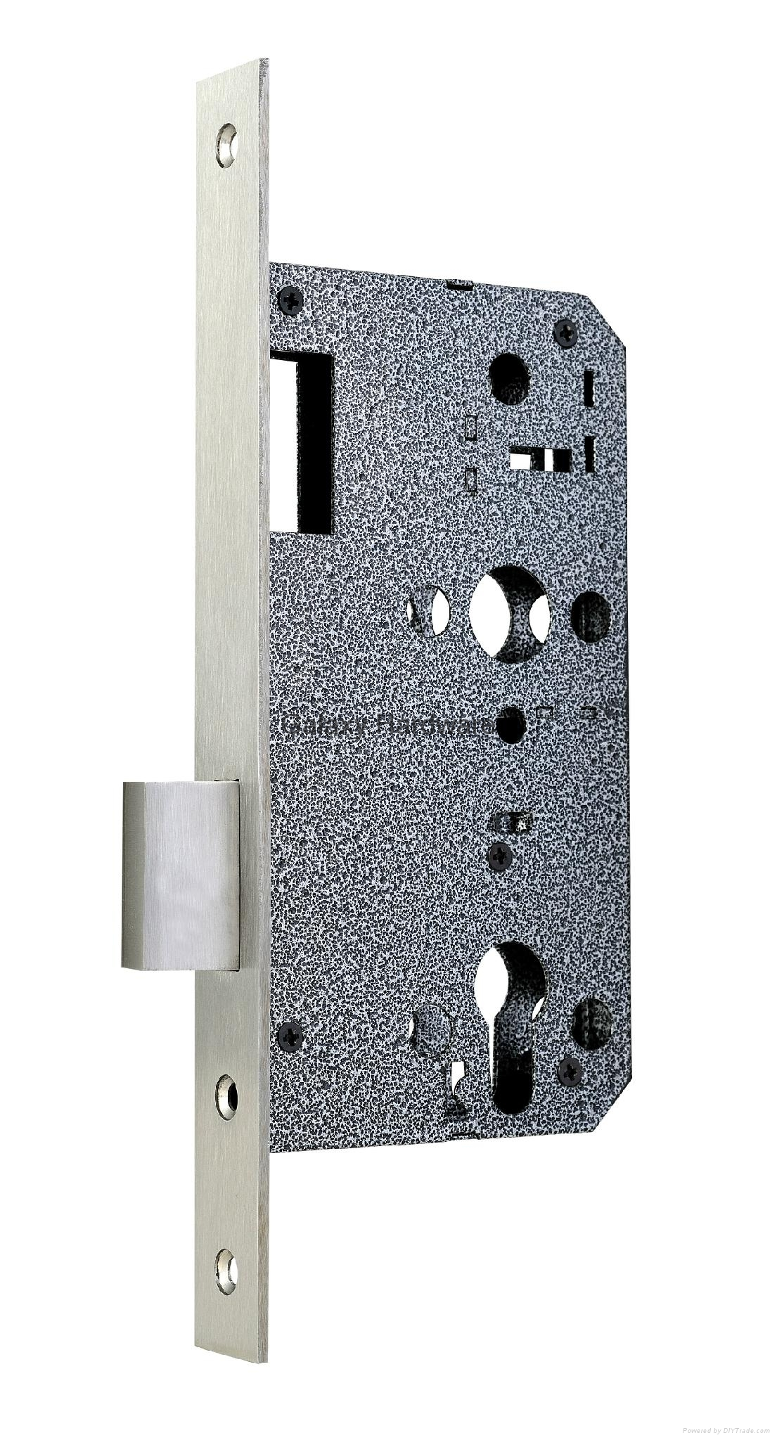 Dead Lock, Euro Profile Mortise Type, Item:6072D 1