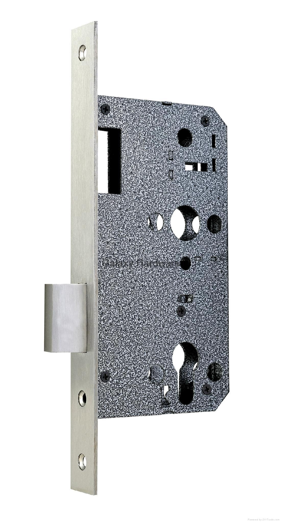 Dead Lock, Euro Profile Mortise Type, Item:6072D
