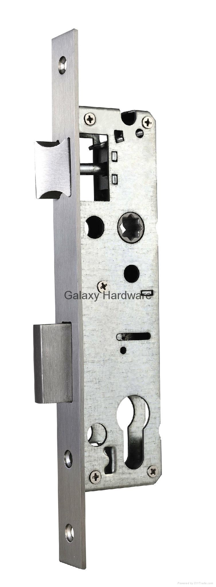 Narrow Mortise Sash Lock, 3085E 1
