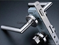 Mortise Lock, Mortise Sash Lock, 55mm Backset, 72mm Centers, CE