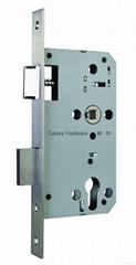 Mortise Lock, Mortise Sash Lock, 55mm Backset, 72mm Centers, CE
