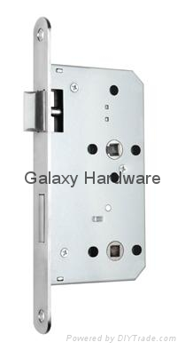 Mortise Lock, Mortise Bathroom Lock, 6072W 1