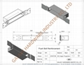 Reinforcement Plates for ANSI Hinges, EN Hinges, ANSI Mortise Locks, EN Mortise