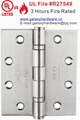UL Hinge, UL Listed Hinge, UL Certified Hinge,Fire Rated Hinge