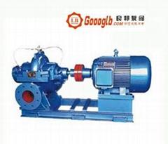 S,SH型单级双吸离心泵中开泵