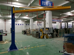 Glass vacuum suction crane