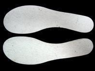 超薄型自黏羊毛鞋墊 - FC-WOOL-001