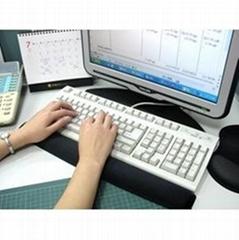 聚氨酯凝胶键盘手托 - GW-KP-BK007