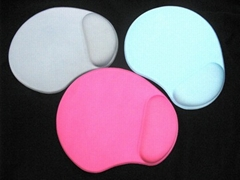 Gel Mouse Pad with Wrist Rest - GW-GELBM004-LTR
