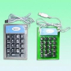 Waterproof Rubber Keypad - F-17 Keypad