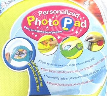 Transparent Mouse Pad with Removable Wrist Rest - GELMP-TG02 2
