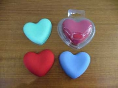 Heart-Shaped Colorful Gel Wrist Rests - GELBP009