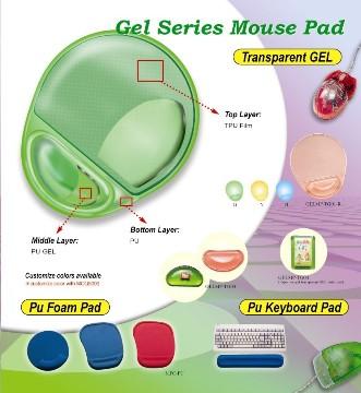 PVC透明凝胶滑鼠垫 - GELMP-TG01 3