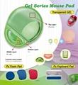 Transparent Gel Mouse Pad with PVC Sheet - GELMP-TG01 3