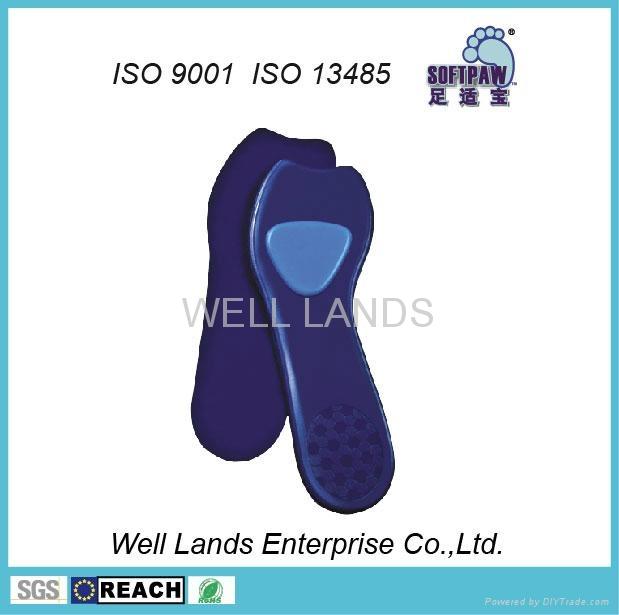 女用矽胶鞋垫 - FC-WOM-F001 1