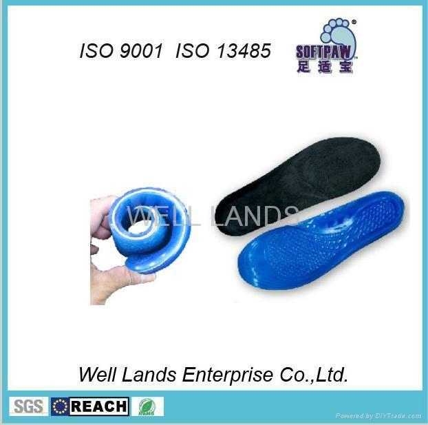 软凝胶天鹅绒鞋垫 - FC-TPE-F002 6