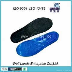 软凝胶天鹅绒鞋垫 - FC-TPE-F002