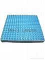Dual layers pressure relief seat cushion