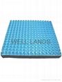 Dual layers pressure relief seat cushion - GEL-SEAT-016B