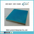 Dual Layer Pressure Relieving Gel Seat Cushion - GEL-SEAT-016A