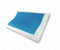 B-Shaped Memory Foam Pillow With Gel - MFG-17 3