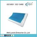 B-Shaped Memory Foam Pillow With Gel - MFG-17 1