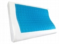 B-Shaped Memory Foam Pillow With Gel - MFG-17 4