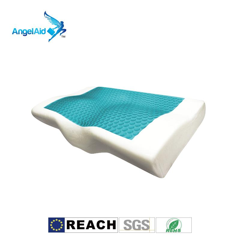 Taiwan High Quality Ergonomics comfortable Gel memory foam pillow Washable Cover 1