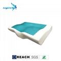 蝶型凝膠記憶枕頭 1