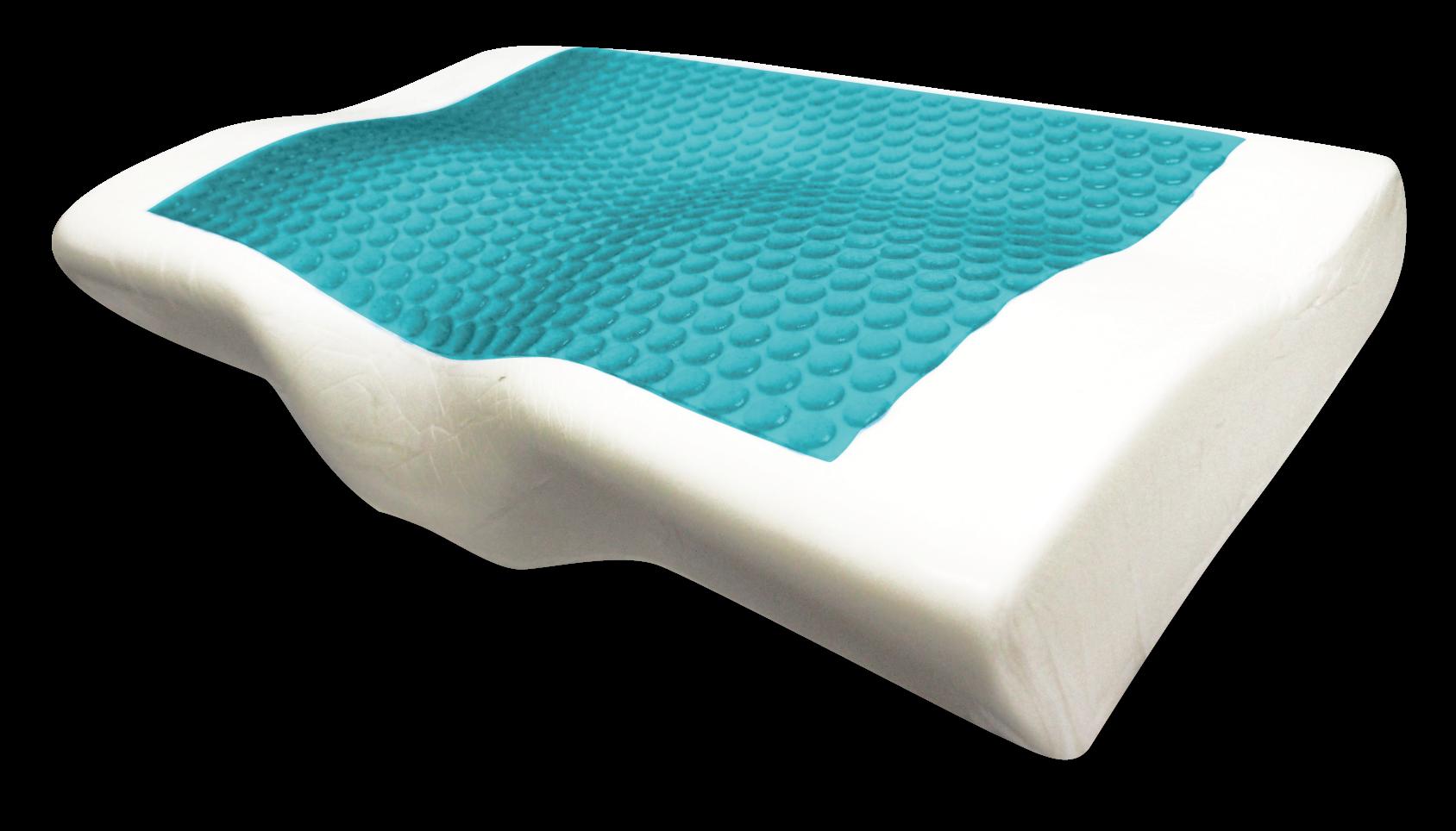 蝶型凝膠記憶枕頭 2