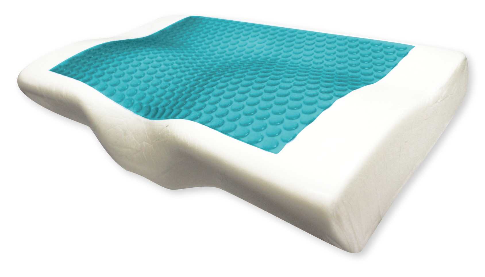 Taiwan High Quality Ergonomics comfortable Gel memory foam pillow Washable Cover 2