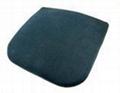 High density memory foam car office lumbar back cushion breathable fabric 2