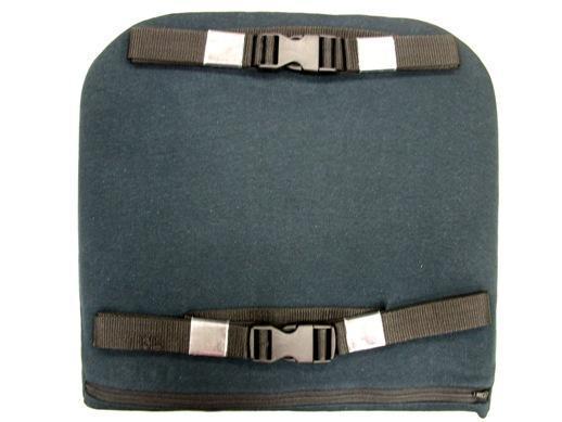 High density memory foam car office lumbar back cushion breathable fabric 3
