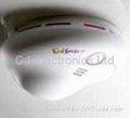 Stand-alone vocal smoke detector(4AA