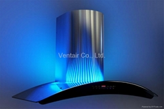 cooker hood with LED mood lighting