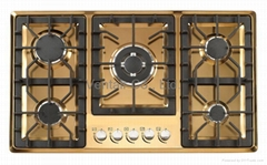 color SS gas built-in hob