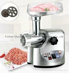 Meat grinder with Aluminum body