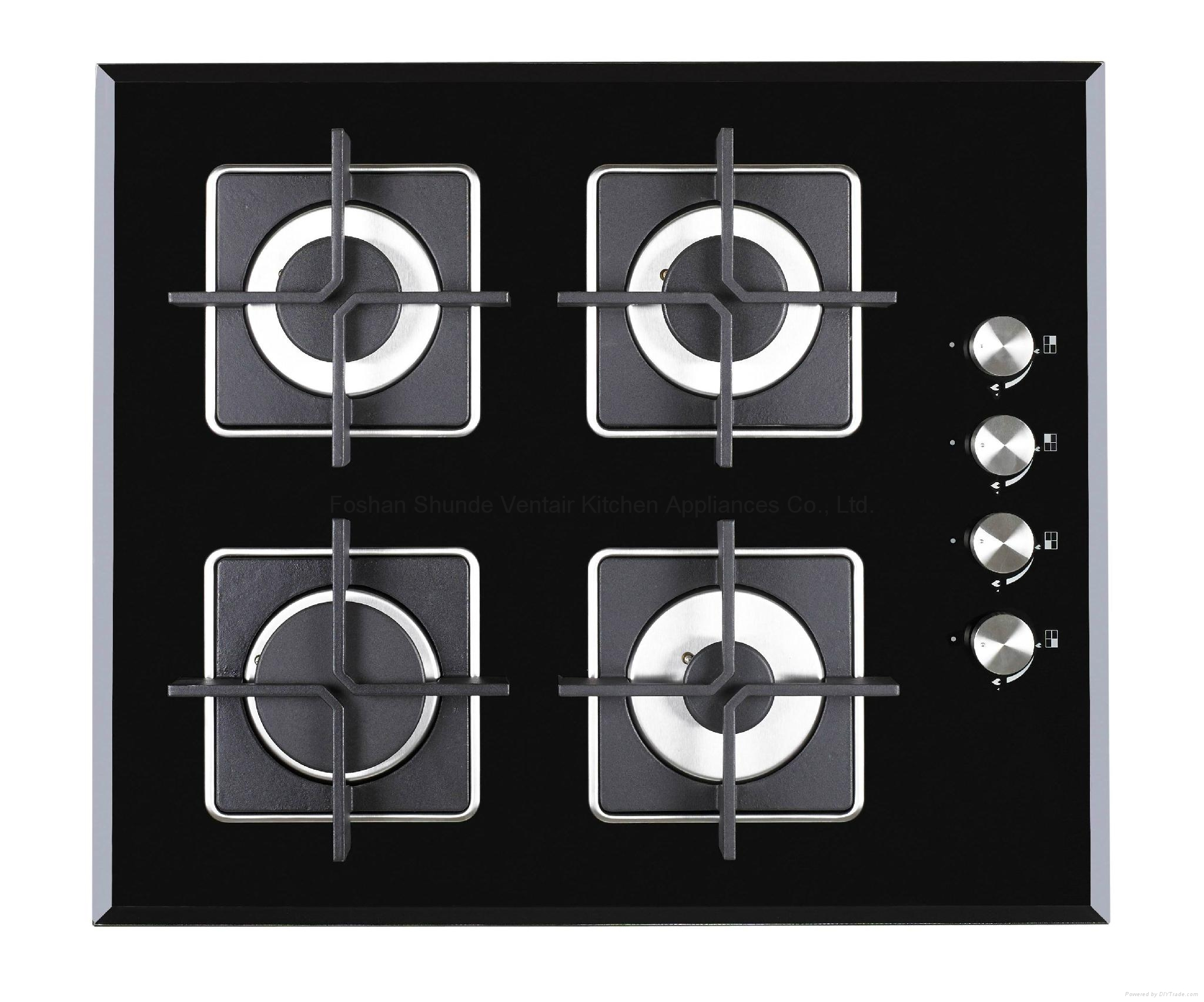 Tempered Glass Panel Gas Hob 2