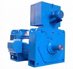 Z Series Steel Rolling Mill Metallurgy Big Size DC Motor