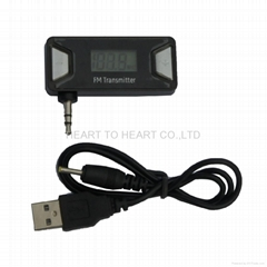 Car Kit LCD Wireless FM Transmitter MP3 Player 3.5mm For Iphone 5 5S 5C 4S 4 3G
