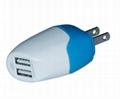 5V 2A  雙USB 充電器