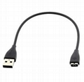 Replacement USB Charging Cable for Fitbit Charge HR Bracelet Activity Tracker 1