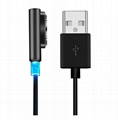 Magnetic Charging Cable W/LED For Sony