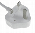 15W Four USB Ports US Plug Power Adapter Charger Cell Phones & Tablet PC (White) 5