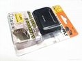 DC 12V/24V 2 Socket 1 USB Port Adapter Splitter Car Cigarette Lighter Charger 4