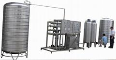 2000liters/hour Pure Water Making Machine
