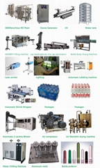 4000BPH Automatic  Water Filling Line