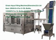 1200BPH Monoblock Water Filling Machine